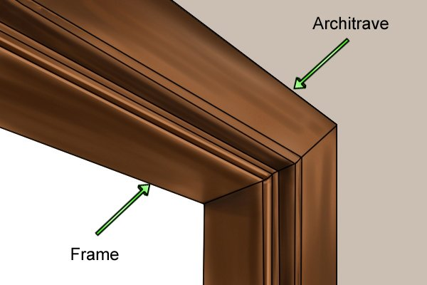 How To Remove An Old Door Frame And Architrave